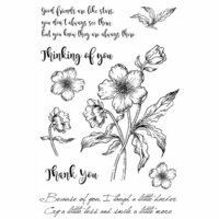49 and Market - Clear Photopolymer Stamps - Gabi's Hibiscus