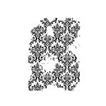 49 and Market - Clear Photopolymer Stamps - Faded Damask