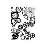 49 and Market - Clear Acrylic Stamps - Steampunk Stylin