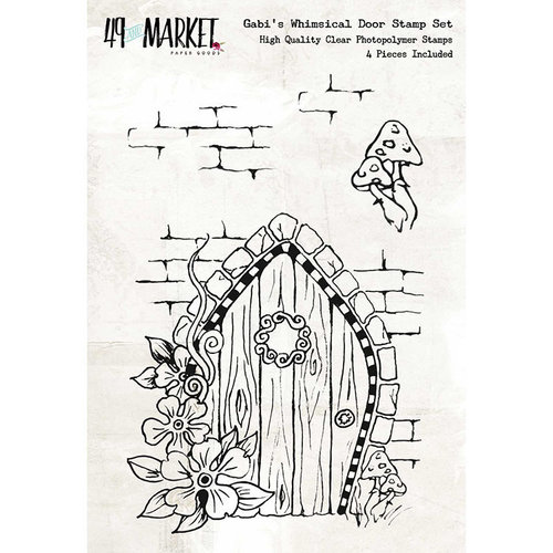 49 and Market - Clear Acrylic Stamps - Gabi's Whimsical Door