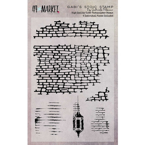 49 and Market - Clear Acrylic Stamps - Gabi's Stoic