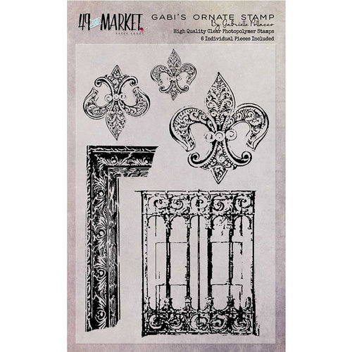 49 and Market - Clear Photopolymer Stamps - Gabi