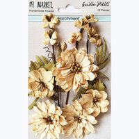 49 and Market - Flower Embellishments - Garden Petals - Parchment