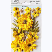 49 and Market - Flower Embellishments - Garden Petals - Sunshine