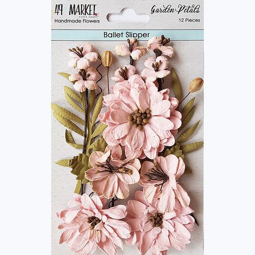 49 and Market - Flower Embellishments - Garden Petals - Ballet Slipper