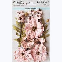 49 and Market - Flower Embellishments - Garden Petals - Ballet Slipper