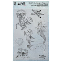 49 and Market - Clear Photopolymer Stamps - Gabi's Underwater Treasures