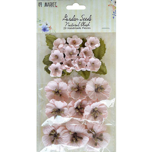 49 and Market - Handmade Flowers - Garden Seeds - Natural Blush