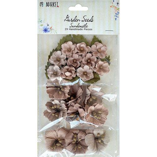 49 and Market - Handmade Flowers - Garden Seeds - Sandcastle