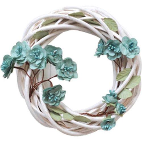 49 and Market - Handmade Flowers - Garden Vine - Dusty Shale