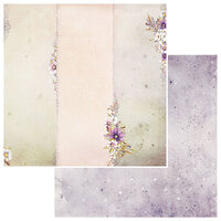 49 and Market - Irrevocable Beauty Collection - 12 x 12 Double Sided Paper - Efflorescent