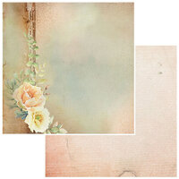 49 and Market - Irrevocable Beauty Collection - 12 x 12 Double Sided Paper - Petrarch