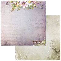 49 and Market - Irrevocable Beauty Collection - 12 x 12 Double Sided Paper - Sonnet