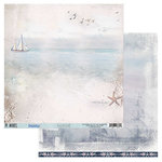 49 and Market - Island Paradise Collection - 12 x 12 Double Sided Paper - Time to Coast