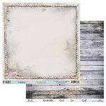 49 and Market - Island Paradise Collection - 12 x 12 Double Sided Paper - Beachy Sands