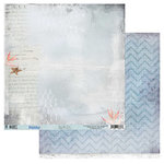 49 and Market - Island Paradise Collection - 12 x 12 Double Sided Paper - By the Sea