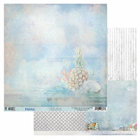 49 and Market - Island Paradise Collection - 12 x 12 Double Sided Paper - Colada Heaven