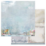 49 and Market - Island Paradise Collection - 12 x 12 Double Sided Paper - Under the Ocean