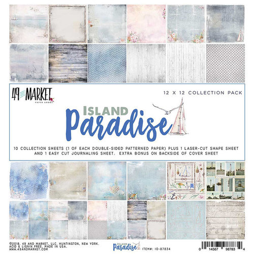 49 and Market - Island Paradise Collection - 12 x 12 Collection Pack