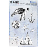 49 and Market - Island Paradise Collection - Clear Acrylic Stamps