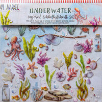 49 and Market - Seaside Collection - Layered Embellishments - Underwater