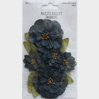 49 and Market - Flower Embellishments - Majestic Bouquet - Midnight