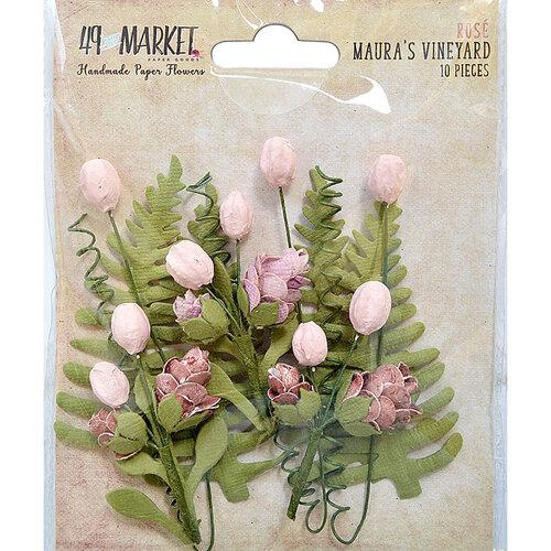 49 and Market - Flower Embellishments - Maura's Vineyard - Rose