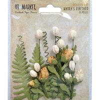 49 and Market - Flower Embellishments - Maura's Vineyard - Chardonnay