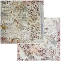 49 and Market - Remnants Mini Collection - 12 x 12 Double Sided Paper - Clippings