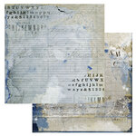 49 and Market - Old School Collection - 12 x 12 Double Sided Paper - Penmanship