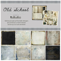 49 and Market - Old School Collection - 12 x 12 Collection Pack
