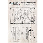 49 and Market - Clear Acrylic Stamps - Pascale's Grammer