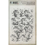 49 and Market - Clear Acrylic Stamps - Bohemian Damask