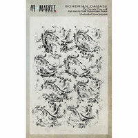 49 and Market - Clear Photopolymer Stamps - Bohemian Damask
