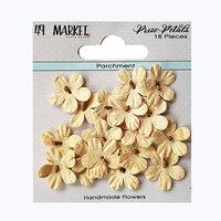 49 and Market - Flower Embellishments - Pixie Petals - Parchment