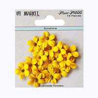49 and Market - Flower Embellishments - Pixie Petals - Sunshine