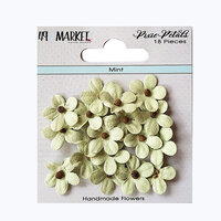 49 and Market - Flower Embellishments - Pixie Petals - Mint