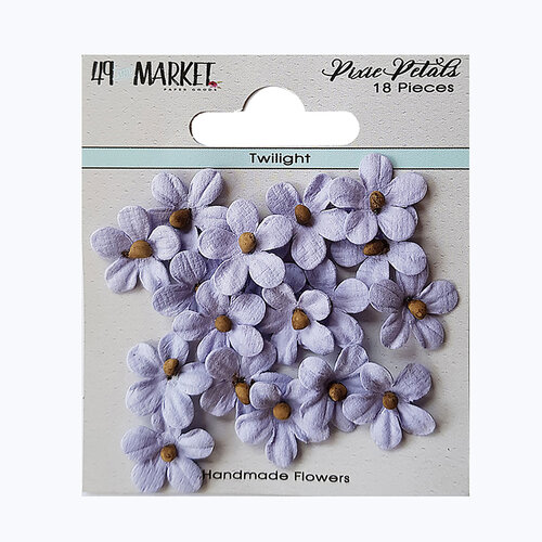49 and Market - Flower Embellishments - Pixie Petals - Twilight