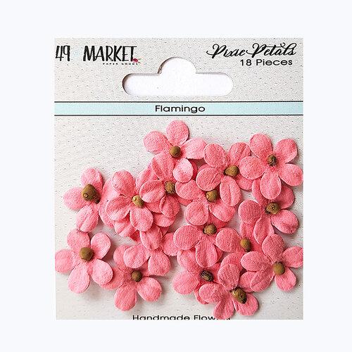 49 and Market - Flower Embellishments - Pixie Petals - Flamingo