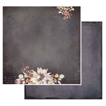 49 and Market - Rusty Autumn Collection - 12 x 12 Double Sided Paper - Blooming Autumn