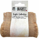 49 and Market - Burlap Ribbon - Natural