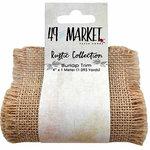 49 and Market - Burlap Ribbon - Natural