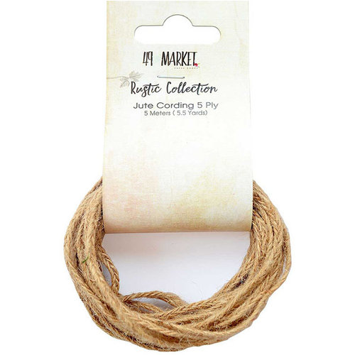 49 and Market - Jute Cording - 5 Ply