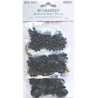 49 and Market - Flower Embellishments - Royal Posies - Midnight