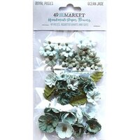 49 and Market - Flower Embellishments - Royal Posies - Ocean Jade