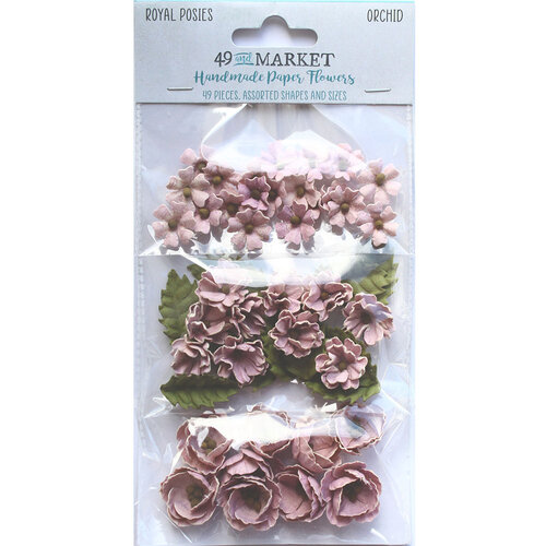 49 and Market - Flower Embellishments - Royal Posies - Orchid