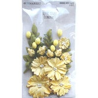 49 and Market - Flower Embellishments - Royal Spray - Sunshine