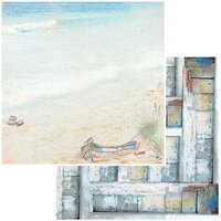 49 and Market - Seaside Collection - 12 x 12 Double Sided Paper - Sand Dunes