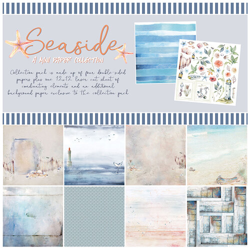 49 and Market - Seaside Collection - 12 x 12 Collection Mini Pack