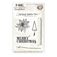 49 and Market - Clear Photopolymer Stamps - Peace Hope Joy